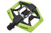 Crankbrothers Double Shot Pedal black/green